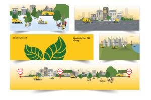 Grafikdesign für Veranstaltungen
