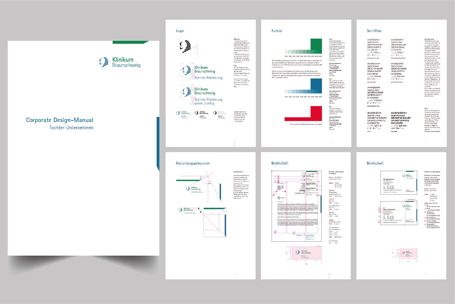 Individuelles Corporate Design