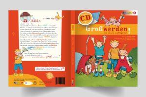 Katalog, Booklet, CD-Cover, Buch-Cover, Newsletter
